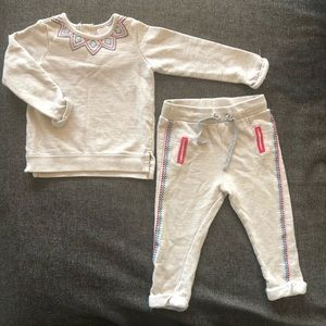 Target cotton baby tracksuit 12-18 months